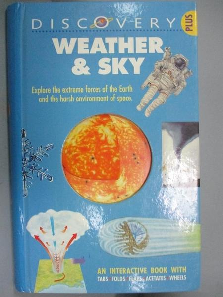 【書寶二手書T8/百科全書_YJH】Weather & Sky_Young, Helen/ Oxlade, Chris