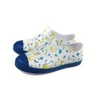 native JEFFERSON PRINT 懶人鞋 洞洞鞋 白/藍 海底生物 中童 童鞋 12100101-8970 no053