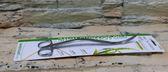 【西高地水族坊】台灣ISTA伊士達 專業水草波浪造型剪刀25cm