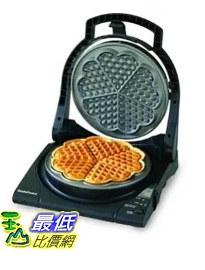 [美國直購] Chef s Choice 840 心型松餅機 WafflePro Express Waffle Maker, Traditional Five of Hearts