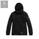 【Roush】 (情侶款)女生機能性保暖鋪毛衝鋒大衣 -【2015968-1】