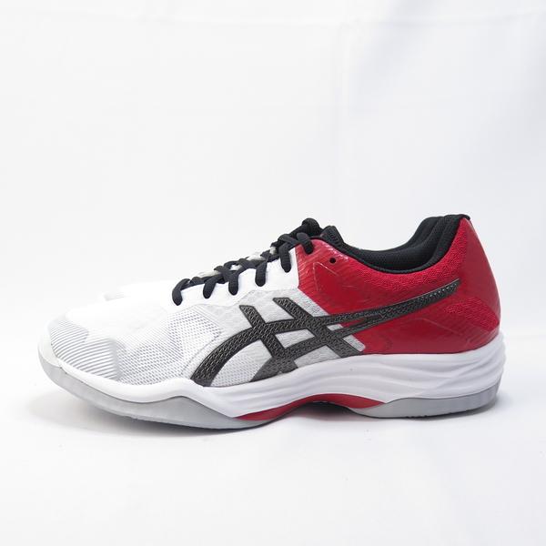 ASICS GEL-TACTIC 男款 桌排羽球鞋 1071A031101 白紅【iSport愛運動】