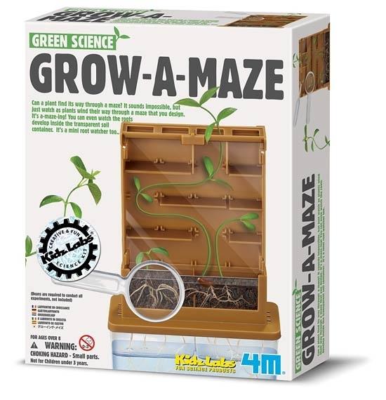 植物迷宮GROW A MAZE 觀察植物生長與根部的發展,學習基本的植物科學