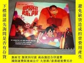 全新書博民逛書店無敵破壞王1設定集英文原版 電影精裝畫冊 Art of Wreck-It Ralph 精裝 迪士尼出品 Disn