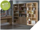 【YUDA】北歐風 全木心板 波麗漆 2.7尺 書櫃/書架 I0X 334-273