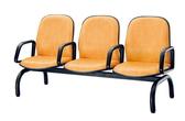 【IS 空間美學】圓管皮面有手排椅2 人座三款尺寸可選