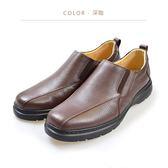 Waltz-「MIT」荔紋真皮懶人鞋 514042-03深咖