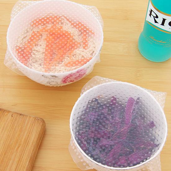 隔熱墊 矽膠密封 耐熱 保鮮 微波爐 杯蓋 開瓶器 透明 加熱 矽膠保鮮膜(小)【J157】慢思行