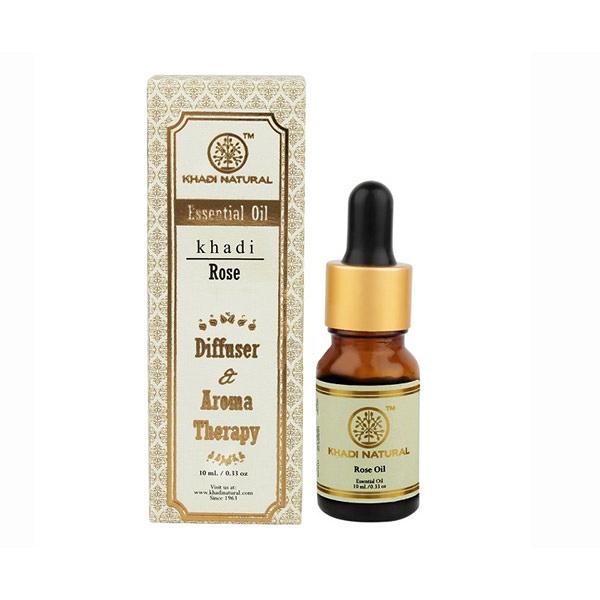 印度 Khadi 玫瑰精油 10ml 新包裝 Herbal Rose Essential Oil【小紅帽美妝】