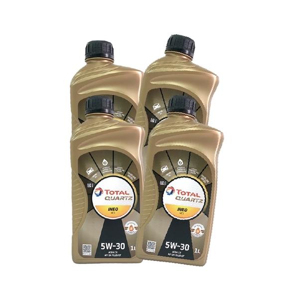 TOTAL QUARTZ MC3 5W30 機油 (四瓶)