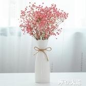 ins北歐干花插花花瓶家用小清新客廳陶瓷裝飾品水培擺件簡約『摩登大道』