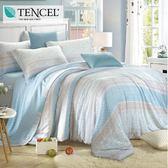 ✰吸濕排汗法式柔滑天絲✰ 加大 薄床包兩用被(加高35CM)《最美十分》