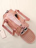 健身包 游泳收納包干濕分離泳衣收納袋透明沙灘包防水袋運動健身裝備手提 歐歐