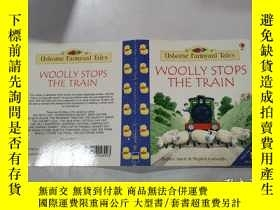二手書博民逛書店woolly罕見stops the train:伍利停了火車Y212829