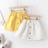 女童半身裙春秋洋氣短裙兒童夏天新款百搭包裙牛仔裙寶寶公主裙子