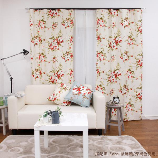 鋁合金伸縮軌道 劍系列 零-Zero-裝飾頭 雙軌 120-200cm 造型窗簾軌道DIY 遮光窗簾專用軌道裝