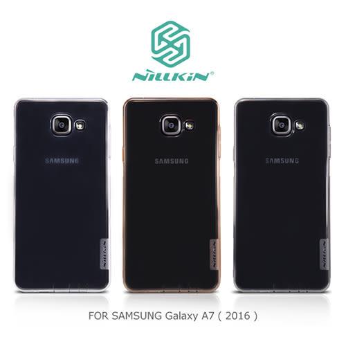 摩比小兔~ NILLKIN SAMSUNG Galaxy A7(2016) 本色TPU軟套 軟殼 透色套