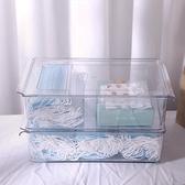 口罩收納盒家用大容量暫存兒童學生放口鼻罩夾防污帶蓋神器整理箱 ATF艾瑞斯