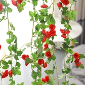 裝飾品假玫瑰花朵