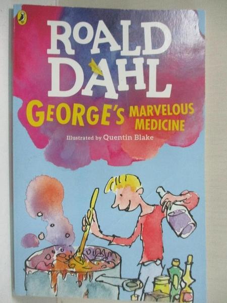 【書寶二手書T1/原文小說_BEV】George's Marvelous Medicine_Dahl, Roald