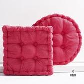 坐墊家用臥室地上椅子墊子可四季通用椅墊【愛物及屋】