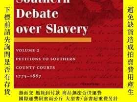 二手書博民逛書店The罕見Southern Debate Over Slaver