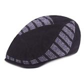 鴨舌帽-毛線加厚保暖冬季男女貝雷帽5色73tv114【時尚巴黎】
