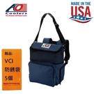 【AO COOLERS】酷冷軟式輕量保冷後背包-18罐型-海軍藍 約為市售軟式保冷包的2倍保冷力