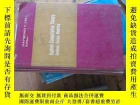 二手書博民逛書店c0009精裝applied罕見computation theo