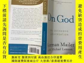 二手書博民逛書店ON罕見GOD AN UNCOMMON CONVERSATION