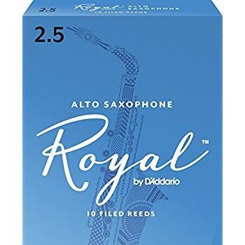 凱傑樂器 ROYAL 中音 ALTO SAX 10片裝 薩克斯風 竹片 2號