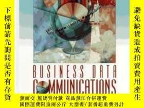 二手書博民逛書店Business罕見Data Communications-業務數據通信Y436638 William Sta