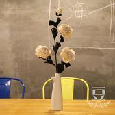 假花 塑料仿真花假花小清新家居花簡約桌擺 巴黎春天