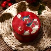 中式喜糖盒結婚喜糖盒子創意婚禮伴手禮盒成品婚慶糖果盒鐵盒春季新品