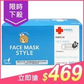 Lin Lian Bandages 利聯醫技 防護用口罩-水藍色(盒裝50入)【小三美日】成人口罩 原價$498