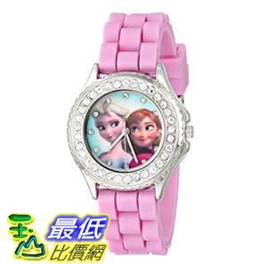 [107美國直購] 兒童手錶 Disney Kids FZN3554 Frozen Anna and Elsa Rhinestone-Accented Watch with Glittered