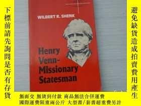二手書博民逛書店Henry罕見Venn-Missionary Statesman
