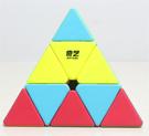 魔方 金字塔魔方啟明異形魔方順滑靈活鋼珠實色益智玩具【快速出貨八折下殺】