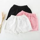 女童牛仔短褲夏季裝新款正韓時尚破洞兒童褲白色中大童夏季寬鬆褲
