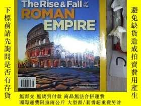 二手書博民逛書店NATIONAL罕見GEOGRAPHIC THE RISE & FALL OF THE ROMAN EMPIRE國