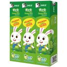 黑人 寶貝兔兒童牙膏 蘋果味 40gX3入