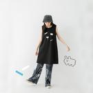 Queen Shop【01085526】右手超人 花與狗狗雲的一天背心洋裝*現+預*