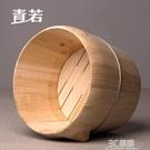 青若原木制蒸米飯飯桶廚房家用杉木大小木桶竹制蒸籠廚具蒸飯木桶 3C優購HM