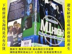 二手書博民逛書店the罕見official M.I.high spy survival handbook M.I.high間諜生存