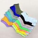 韓國襪子 螢光捲邊 素色長襪 長筒襪 休閒襪 學生襪 女襪