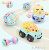 嬰兒玩具軟膠手搖鈴0-3-6-12個月女寶寶男孩手抓女孩益智新生兒7    琉璃美衣