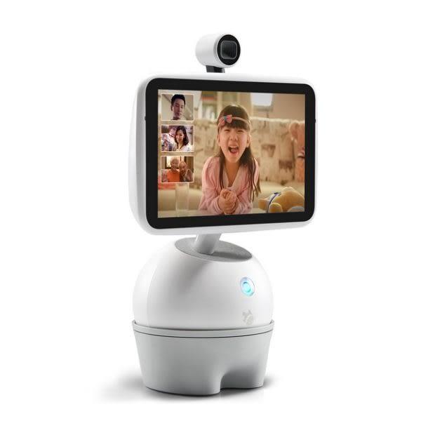 【拆封新品】小魚在家 分身魚 行動視訊陪伴系統 可多方視訊通話 智能機器人 享有半年保固