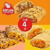 【KK Life-紅龍免運組】香酥派餅4袋(3種口味)
