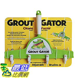[美國直購] Grout Gator GROUTGATORBR 磁磚清洗刷 Cleaning Brush