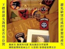 二手書博民逛書店【罕見】2002年出版 United States Army Shoulder Patches and Relat